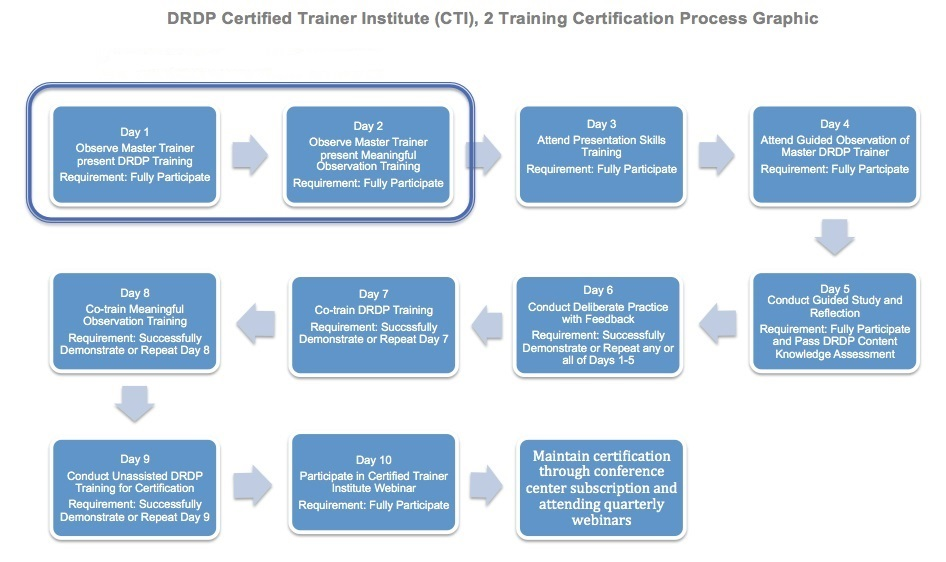 Certified Trainer Institute Desired Results For Children And Families
