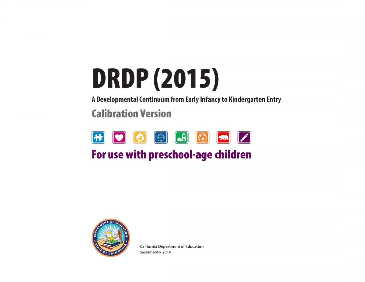 Drdp Forms Desired Results For Children And Families
